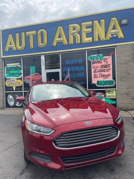2013 Ford Fusion for sale at Auto Arena in Fairfield OH