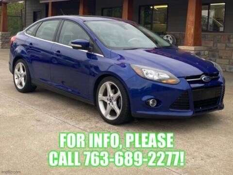 2012 Ford Focus for sale at Affordable Auto Sales in Cambridge MN