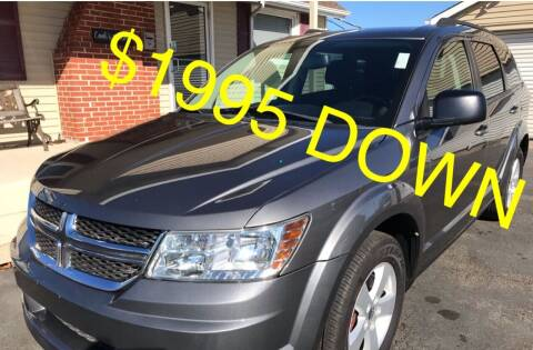2013 Dodge Journey for sale at Cooks Motors in Westampton NJ