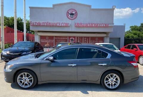 2010 Nissan Maxima for sale at Eazy Auto Finance in Dallas TX