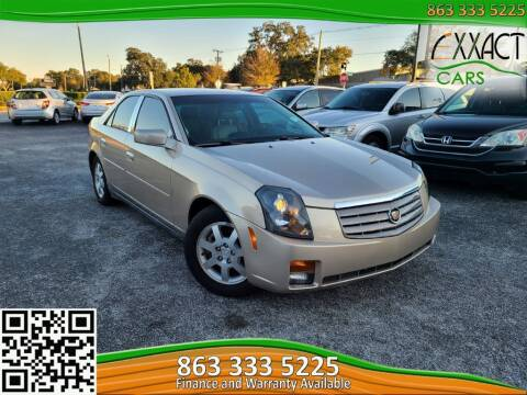 2005 Cadillac CTS for sale at Exxact Cars in Lakeland FL