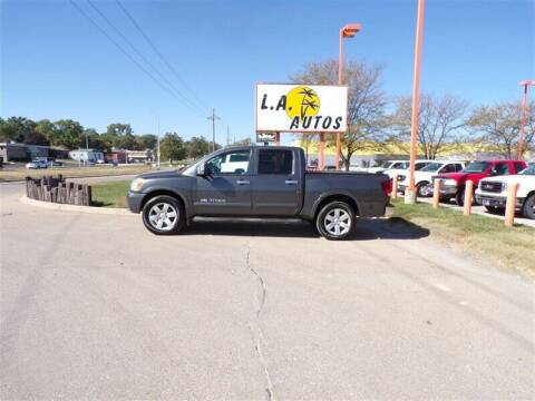 2008 Nissan Titan for sale at L A AUTOS in Omaha NE