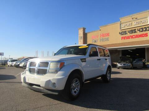2010 Dodge Nitro for sale at Import Motors in Bethany OK