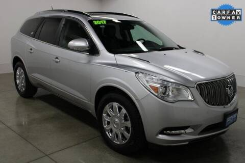 2017 Buick Enclave for sale at Bob Clapper Automotive, Inc in Janesville WI