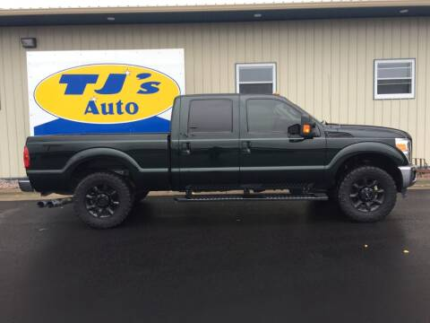 2014 Ford F-250 Super Duty for sale at TJ's Auto in Wisconsin Rapids WI