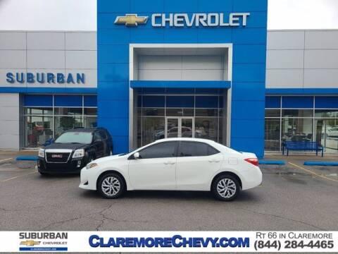 2019 Toyota Corolla for sale at Suburban Chevrolet in Claremore OK