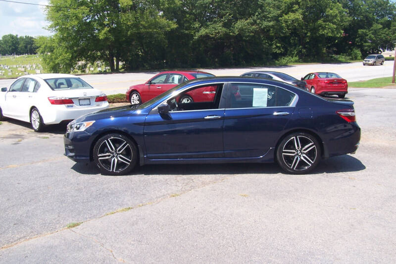 2017 Honda Accord for sale at Blackwood's Auto Sales in Union SC