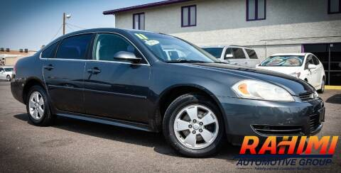 2011 Chevrolet Impala for sale at Rahimi Automotive Group in Yuma AZ