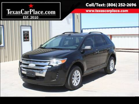 2013 Ford Edge for sale at TEXAS CAR PLACE in Lubbock TX