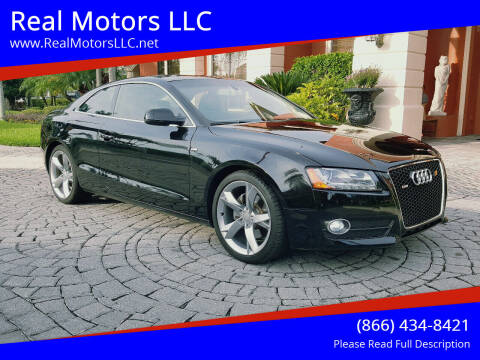 2011 Audi A5 for sale at Real Motors LLC in Clearwater FL