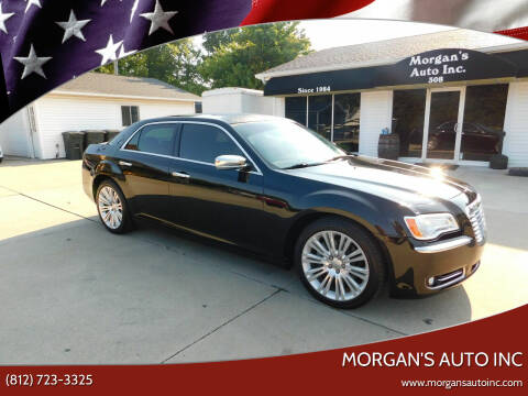 2012 Chrysler 300 for sale at Morgan's Auto Inc in Paoli IN