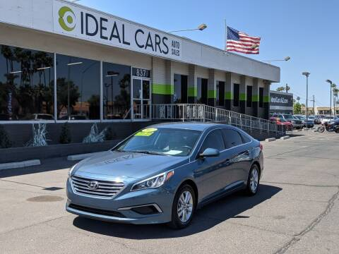 2017 Hyundai Sonata for sale at Ideal Cars in Mesa AZ