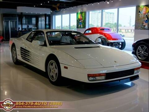 1988 Ferrari Testarossa for sale at The New Auto Toy Store in Fort Lauderdale FL