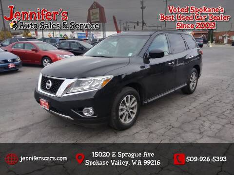 2015 Nissan Pathfinder for sale at Jennifer's Auto Sales in Spokane Valley WA