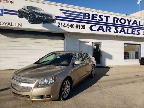 2008 Chevrolet Malibu for sale at Best Royal Car Sales in Dallas TX