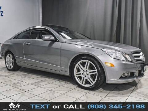 2010 Mercedes-Benz E-Class for sale at AUTO HOLDING in Hillside NJ