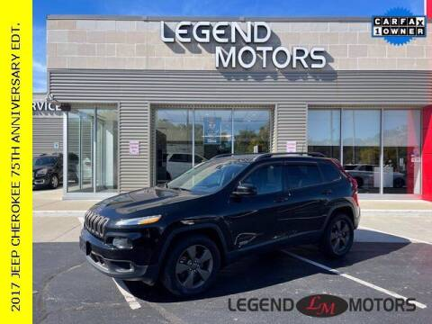 2017 Jeep Cherokee for sale at Legend Motors of Ferndale - Legend Motors of Waterford in Waterford MI
