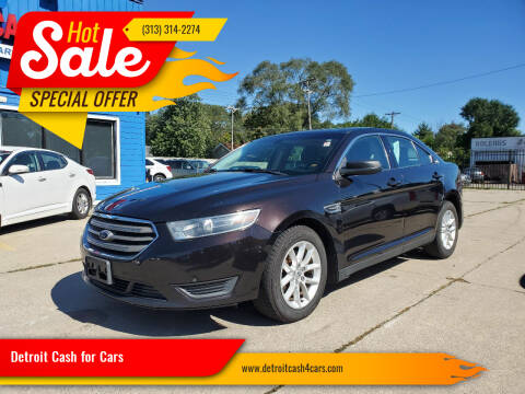 2014 Ford Taurus for sale at Detroit Cash for Cars in Warren MI