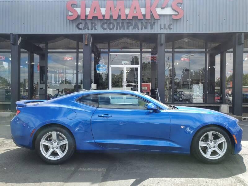 2016 Chevrolet Camaro for sale at Siamak's Car Company llc in Salem OR