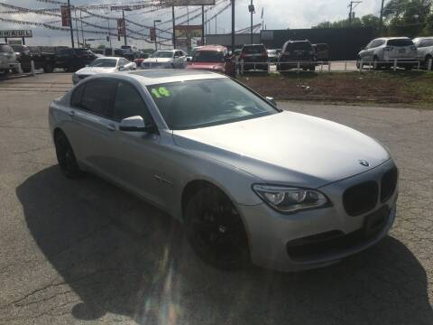 2014 BMW 7 Series for sale at ROUTE 6 AUTOMAX in Markham IL