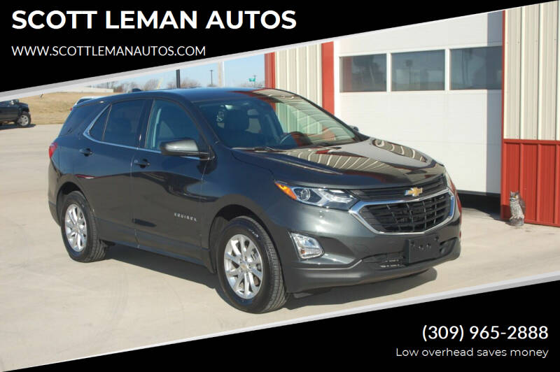 2020 Chevrolet Equinox for sale at SCOTT LEMAN AUTOS in Goodfield IL