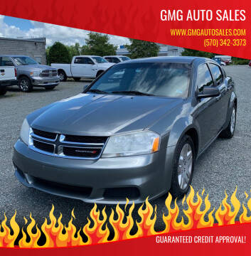 2012 Dodge Avenger for sale at GMG AUTO SALES in Scranton PA