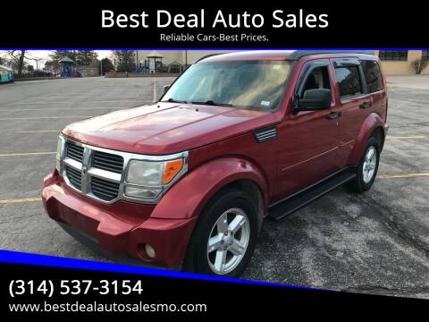 2008 Dodge Nitro for sale at Best Deal Auto Sales in Saint Charles MO