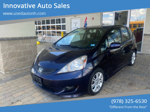 2009 Honda Fit for sale at Innovative Auto Sales in North Hampton NH