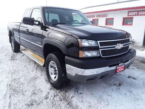 2005 Chevrolet Silverado 3500 for sale at Sarpy County Motors in Springfield NE
