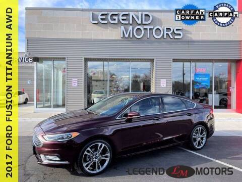 2017 Ford Fusion for sale at Legend Motors of Waterford in Waterford MI