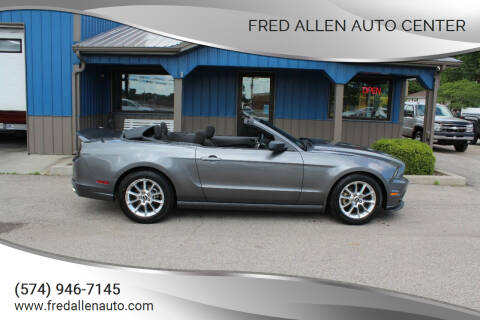 2014 Ford Mustang for sale at Fred Allen Auto Center in Winamac IN