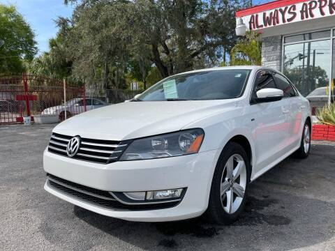 2015 Volkswagen Passat for sale at Always Approved Autos in Tampa FL