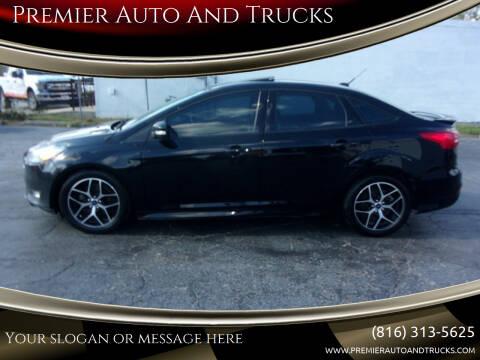 2016 Ford Focus for sale at Premier Auto And Trucks in Independence MO
