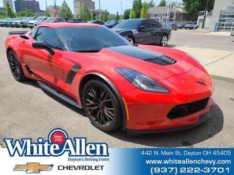 2019 Chevrolet Corvette for sale at WHITE-ALLEN CHEVROLET in Dayton OH