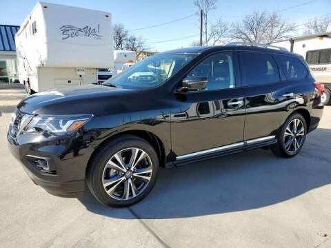 2020 Nissan Pathfinder for sale at Kell Auto Sales, Inc - Grace Street in Wichita Falls TX