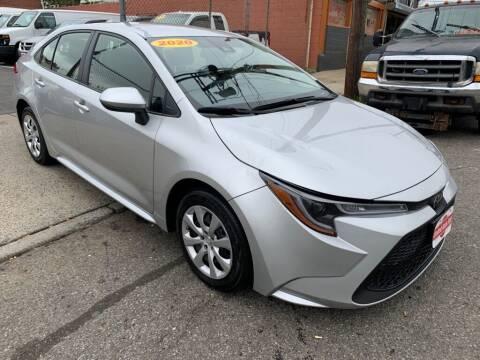 2020 Toyota Corolla for sale at United Auto Sales of Newark in Newark NJ