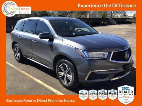 2018 Acura MDX for sale at Dallas Auto Finance in Dallas TX