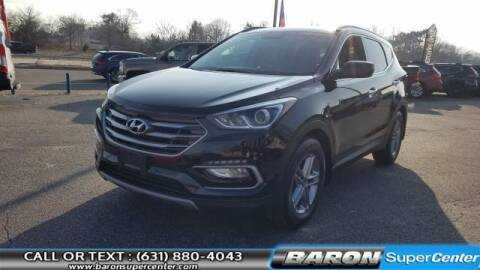 2017 Hyundai Santa Fe Sport for sale at Baron Super Center in Patchogue NY