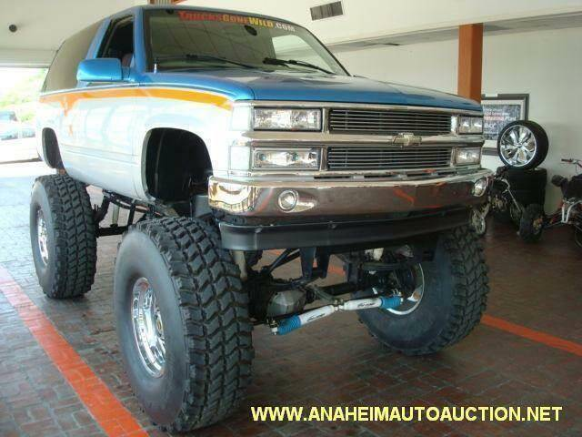 1999 Chevrolet Tahoe for sale at Anaheim Auto Auction in Irondale AL
