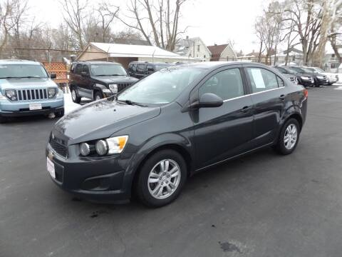 2014 Chevrolet Sonic for sale at Goodman Auto Sales in Lima OH