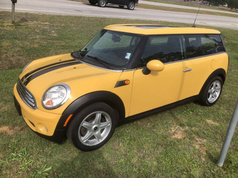 2008 MINI Cooper Clubman for sale at Auto Cars in Murrells Inlet SC