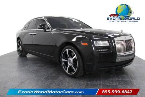2014 Rolls-Royce Ghost for sale at Exotic World Motor Cars in Addison TX