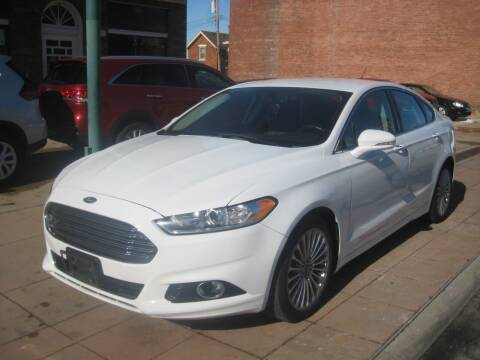 2016 Ford Fusion for sale at Theis Motor Company in Reading OH
