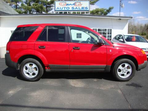 2004 Saturn Vue for sale at G and G AUTO SALES in Merrill WI
