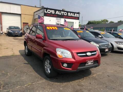 2009 Kia Sportage for sale at Lo's Auto Sales in Cincinnati OH