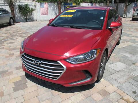 2017 Hyundai Elantra for sale at Affordable Auto Motors in Jacksonville FL