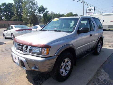 2002 Isuzu Rodeo Sport for sale at High Country Motors in Mountain Home AR