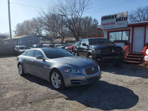 2011 Jaguar XJL for sale at Crosby Auto LLC in Kansas City MO