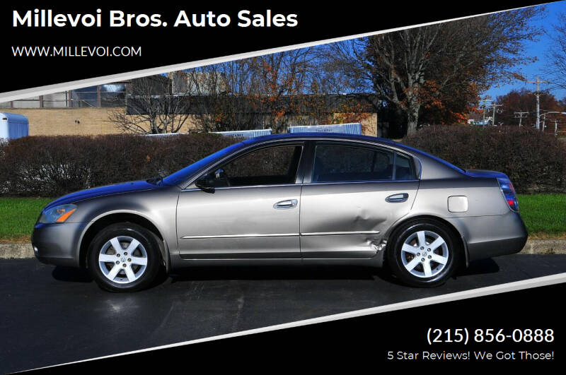 2004 Nissan Altima for sale at Millevoi Bros. Auto Sales in Philadelphia PA