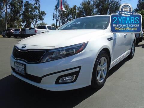 2015 Kia Optima for sale at Centre City Motors in Escondido CA